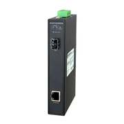 Hardened Media Converter, 10/100/1000 Ethernet Transceiver to SFP with 10/100/1000Base-TX and 1000 Base-X interfaces