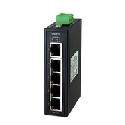 Hardened Unmanaged Ethernet Switch with 5x10/100 Base-TX ports